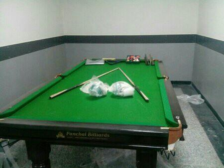 We are the INDIA's largest supplier of New pool tables, Used pool tables, New billiards Tables, New Snooker Tables, Used Snooker Tables, New And Used air hockey Tables, New foosball Tables, New soccer Tables, - by Panchal Billiards, Faridabad