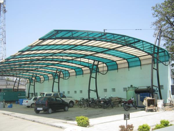 Fibre Glass Roofing shed - by Tulsi Fibre Glass Industries, Vadodara