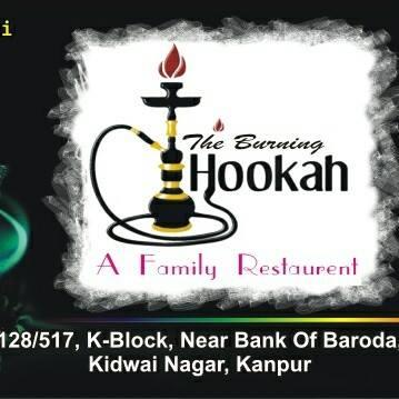 All flavoured Hookah and best quality food in one place, visit once 128/517 k-block kidwai nagar kanpur - by theburninghookah, Kanpur UP