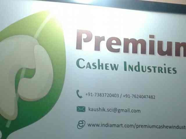 automatic cashew cutting machine. - by Premium Cashew Industries, Ahmedabad