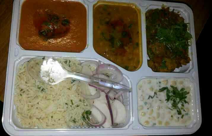 intrduce rs 50 each thaali with 4 tawa roti - by Radha Ki Rasoi, Ghaziabad