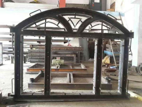 Round Tipe window fram  - by Rahul Fabrication, Gondal