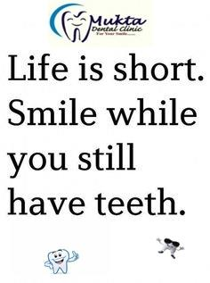 Keep Smile....:-) - by mukta dental clinic, udaipur