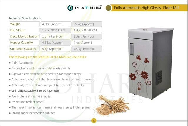 we are manufacturing flour milling machine in rajkot. - by Dharti Industries, Rajkot