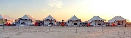 Camps in Sam Desert Jaisalmer - by camel safari dunes camp sam resort, Jaisalmer
