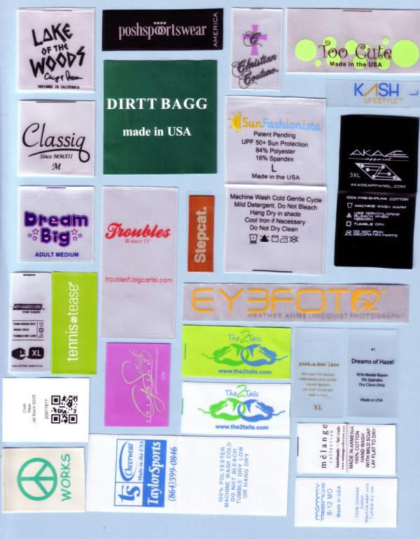 SATIN PRINTED LABELS - by Shree Nath Jee Labels, New Delhi