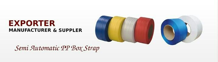 manufacture and exporter of p.p.box strap - by Perfect Polyplast, Rajkot