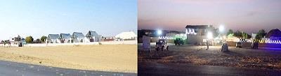 Resort on Main Road Near to Sam Dunes Jaisalmer - by camel safari dunes camp sam resort, Jaisalmer