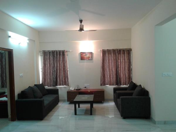 Living room, Cozy Ambience, services apartments - by Cozy Ambience, Bengaluru