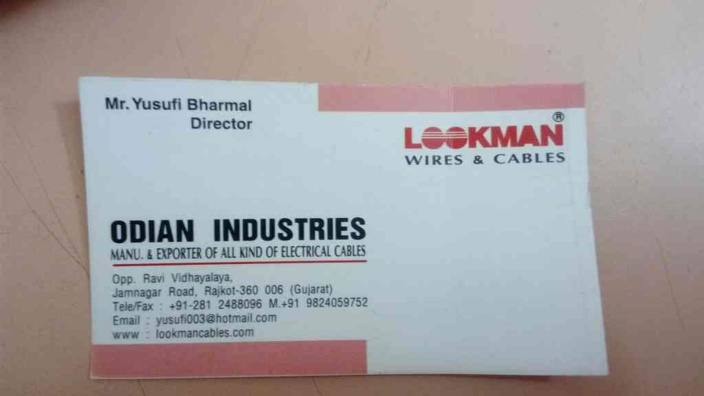we are leading exporters of ceramic tiles  - by Odian Indhstries, Rajkot