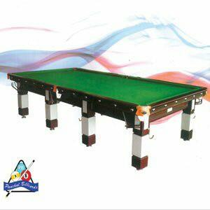 Pool table :- 8/4 standard size             with 1.5 inch indian marble slate              Super Pool cloth               tournament ball set              Two nos. fancy hanging lights  - by Panchal Billiards, Faridabad