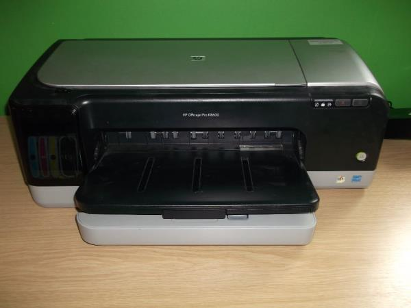 HP A3 Size K8600 Printer   *********With Ink Tank Compatibility*********  Printer Type Workgroup printer - ink-jet - color Width 23.7 In Depth 16.5 In Height 8.8 In Weight 27.12 lbs Monthly Duty Cycle (max) 6250 pages PC Connection USB Prin - by KAY ESS ENTERPRISES, New Delhi