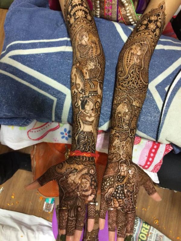 Best mehandi artist in delhi - by Kundan Mehandi @ 9810910844, New Delhi
