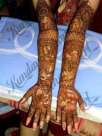 Mehandi artist - by Kundan Mehandi @ 9810910844, New Delhi