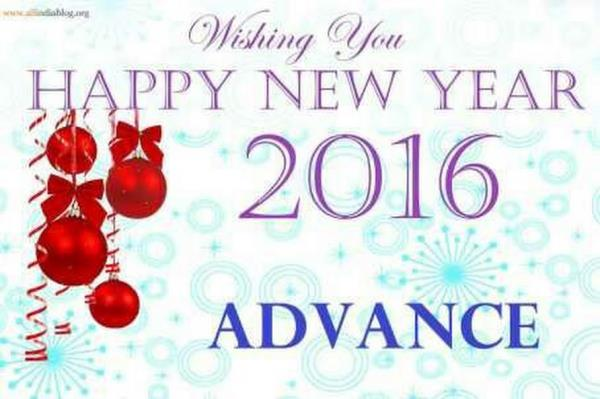 Happy new year for our all customers Wishing you 31st Dec 2015  closing all the best - by Finance consultants, Hyderabad