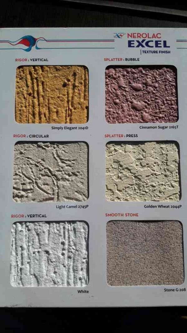 First Impression Matters... Nerolac Excel Texture Finish. Vishal Traders, Najafgarh, New Delhi-110043 - by Vishal Tarders, Najafgarh New Delhi