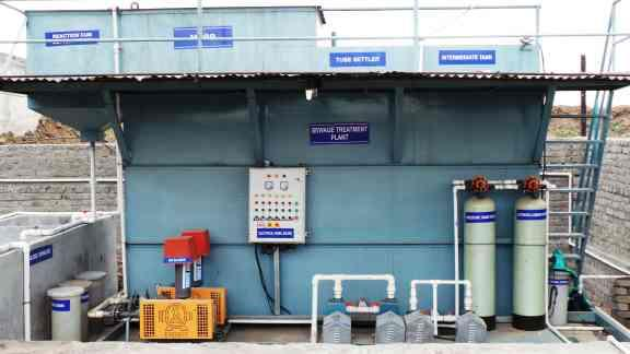 Sewage Treatment Plant: 20 CMD supplied yp Aakar Foundry, Talegaon - by Waingade Enviro & Agri Solutions, Pune