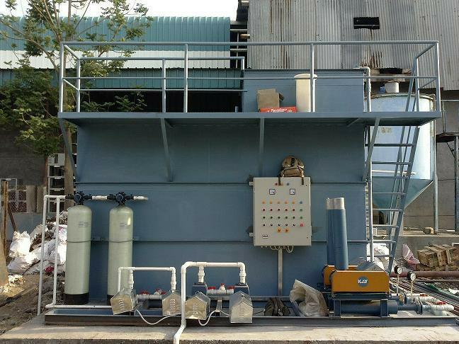 Sewage Treatment Plant: 20 CMD supplied to Badve Engineering Ltd., Ranjangaon - by Waingade Enviro & Agri Solutions, Pune