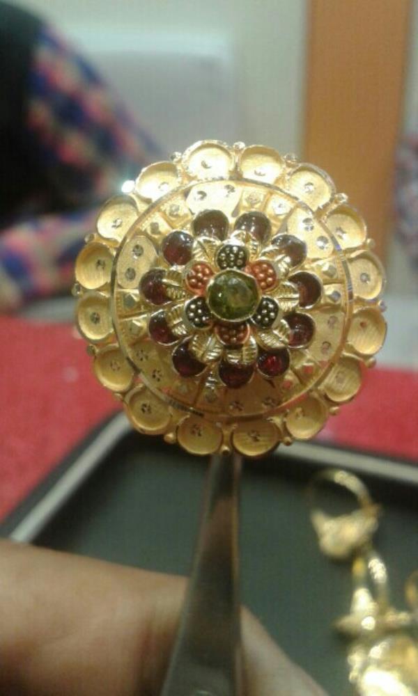jodha akber ring - by Gold .selver, Saharanpur