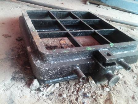 foundry equipments, moulding boxes, laddles, forged shackles, transfer trolleys, pallet car, heavy fabrications - by arch equipments, dhanbad