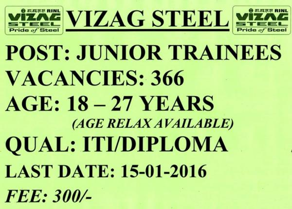 Vizag Steel Plant - by Youth Choice , srikakulam