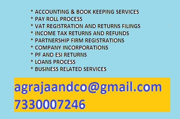business services - by agrajaandco, hyderabad