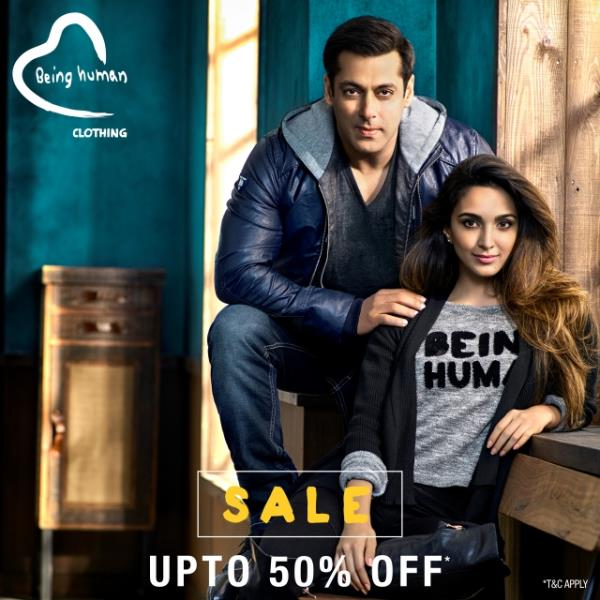 The SALE season is here... Get upto 50% OFF at the exclusive Being Human store at @tcmudaipur  - by The Celebration Mall - Udaipur, Udaipur