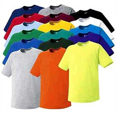 round neck t shirt in wazirpur - by T-Shirt Printing Headquarter, New Delhi