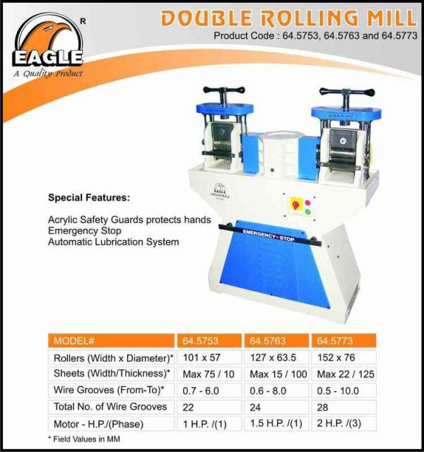 we are exporters of Jewellery  machine And tools In Rajkot - by Eagle Industries, Rajkot
