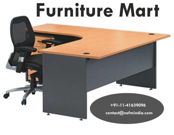 NEFM is an establishment, which is committed to fulfill your requirement of furniture whether it's for your new office or for a facelift to the existing one. We have an array of imported furniture range that includes Custom made Ready to as - by Furniture Mart, South Delhi