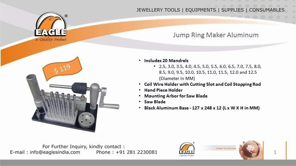 Eagle Jump Ring Makers. - by Eagle Industries, Rajkot