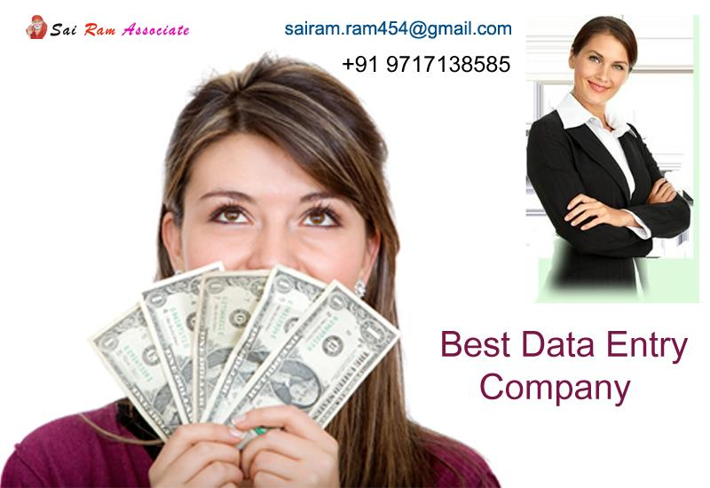 Sai Ram Associates GTB Nagar is absolutely 100% law-abiding, sincere and ethical for everyone that is involved - especially for you! There will be no need to be concerned about any scams and hoaxes while you work with us as we have been pro - by Best Data Entry Company, New Delhi
