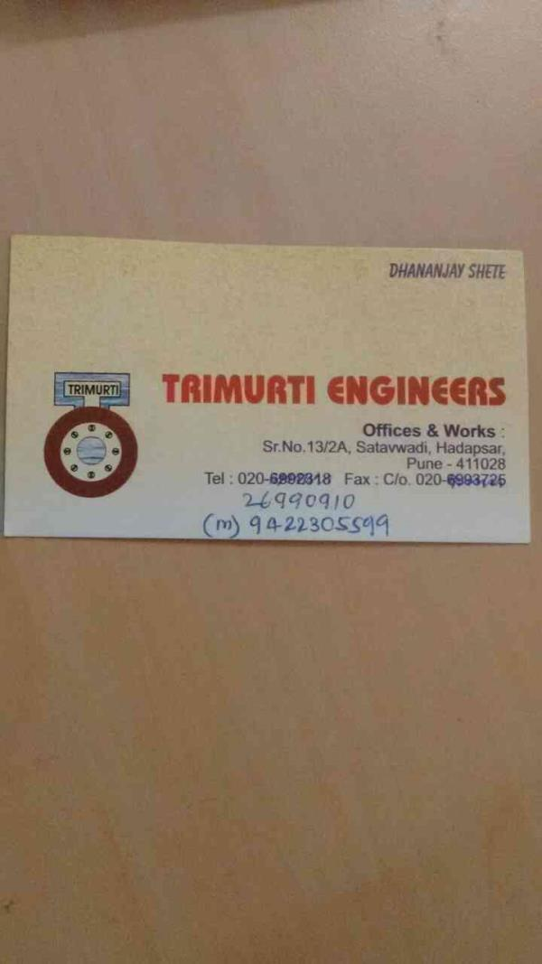 Manufacturer of instrumentation products  - by Trimurti Engineers, Pune