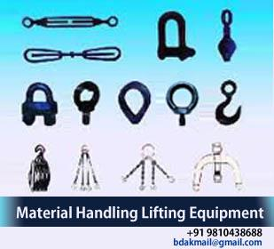 Balkishan Dass Firm was Established in 1951 is a leading manufacturer and suppliers of a large range of material handling & Lifting equipments in India. We always take care of the betterment of products in every aspects varying from feature - by Material Handling and Lifting Equipment in Delhi|Balkishan Dass, delhi