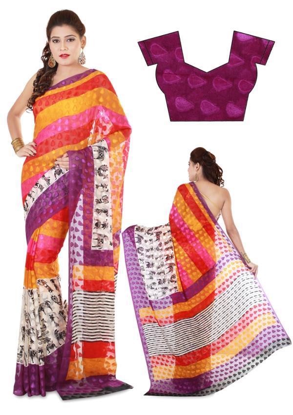 Indian Saree  Model Photography  Bazingaa Production Pvt. Ltd. - by Bazingaa Production Pvt. Ltd., Delhi