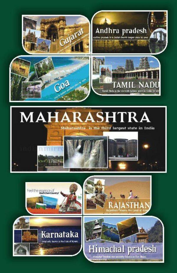 India Travel Guide  India has vast diversity in terms of geographical features, Climate, Traditional Customs & religion, Heritage, Clothing's, Festivals, worship of gods, spoken Language, Lifestyle, flora and fauna, food  etc.In India , 22  - by SAMRUDDHI TOURISM, Pune