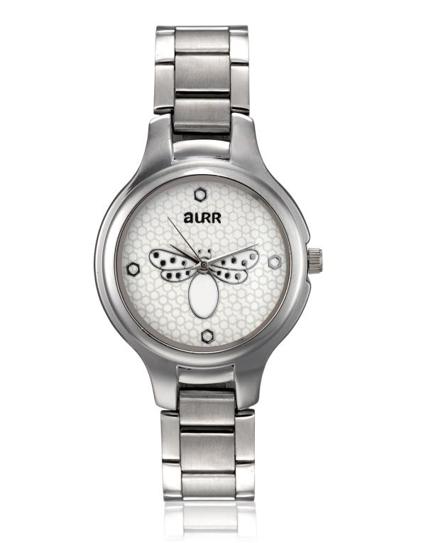 Open the world of possibilities with high quality AURR watches for women. The styling of this watch is totally in-vogue. It ensures that you make a style statement, and brush aside your competition. Much like your chic demeanor, this watch  - by Pepper Group, New Delhi