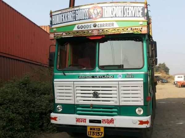LOAD CAPACITY VEHICLES We have vehicles of various load capacities ranging from 8 M.T to 25 M.T.  - by Hundekkaree Goodss Transport Service, Pune