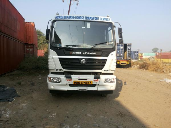 CUSTOMIZED VEHICLES We get our vehicles customized as per the requirement of the client.  - by Hundekkaree Goodss Transport Service, Pune