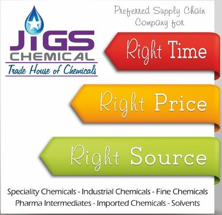 We Jigs Chemical Are On Of The Chemical Supplier Based In Ahmedabad . We deal with Speciality Chemical, Industrial Chemical, Fine Chemicals, Pharma Chemical, Pharma Intermediates, Imported Chemicals & Solvents. - by JIGS CHEMICAL, Ahmedabad