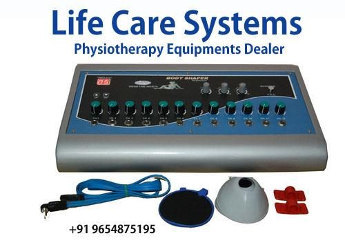 A wide range of durable Electrotherapy Equipments are available at single window named at Life care. We are a trustworthy manufacturer and supplier of an excellent  more detail...http://www.lcsindia.com/ 	 slimming equipments dealer in bang - by Physiotherapy equipments dealer in delhi |Life Care Systems, Ghaziabad