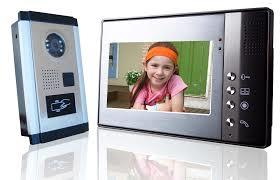 COLOR VIDEO DOOR PHONE SYSTEM - by Jha Electronics, Bareilly