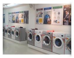 Large display of washing Machines - by IFB Point Wanowrie, Pune
