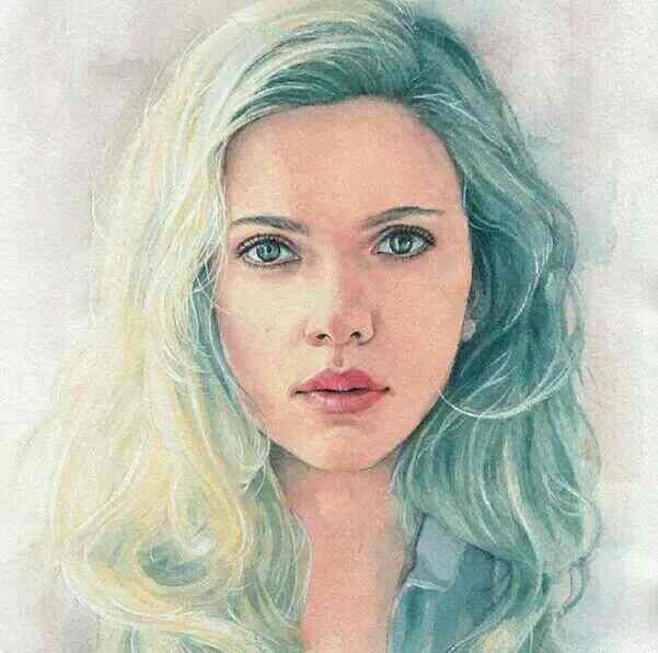 Scarlett Johansson - by Abc Testing, Ahmedabad