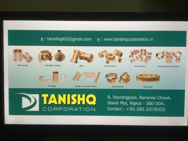 Bronze brass bush manufacture  - by Tanishq Corporation, Rajkot