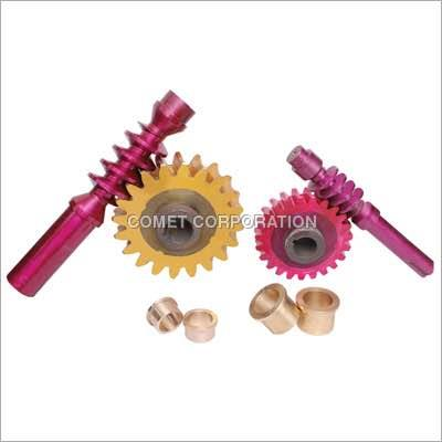 Bronze worm gear manufactures - by Tanishq Corporation, Rajkot