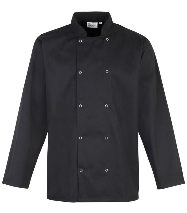 We are Manufacturers of Black Chef Coats in Chennai. We use Good Quality Uniform Material for the Production of Black Chef Coats - by Sumatisons Readymade & Uniforms, Chennai