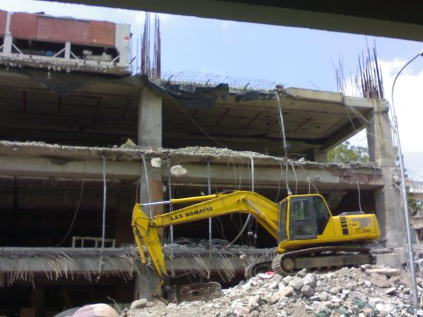 Building Demolition Concrete Breaking Services Manual Demolition Services High Reach Building Demolition - by Iqbal Kapadia, Mumbai