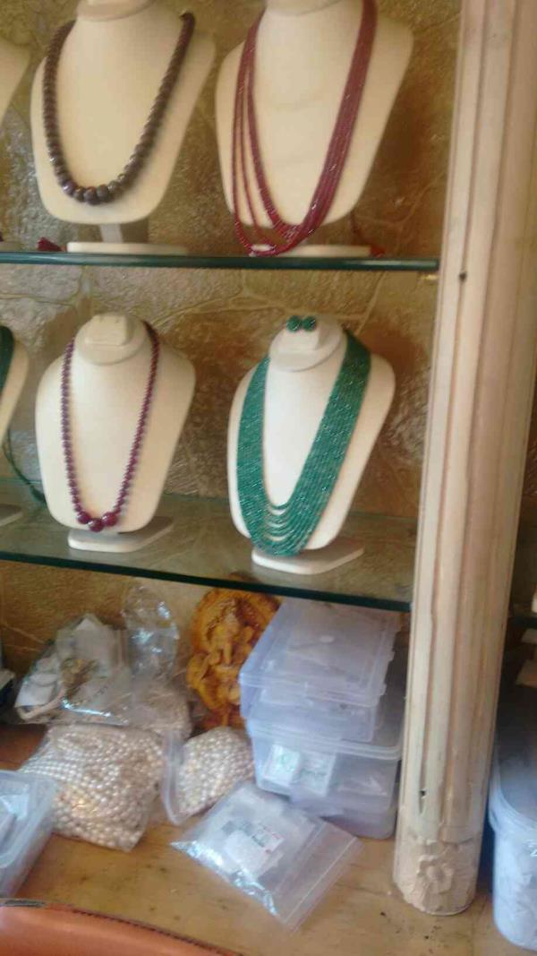 emerald set available with best prices - by K.s Jewellers And Pearls, Abids