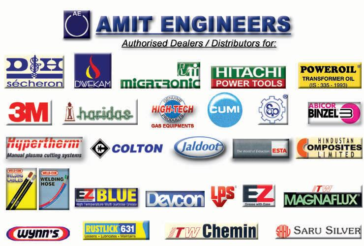 We Deal With All Our Loyal Suppliers. #CoatedAbrasives #PowerTools #GasEquipments #WeldingHose #PFSolvents #TIG #MIG #Torches #TungstenElectrodes and many more Industrial Equipments #AmitEngineers - by Amit Engineers   Industrial Welding Equipments, Visakhapatnam